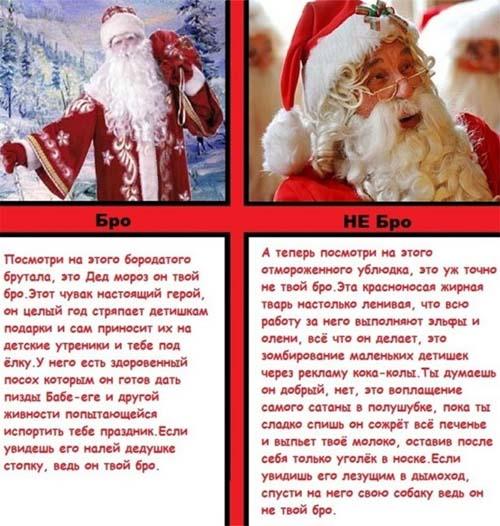 Новогоднее поздравление от санта клауса
