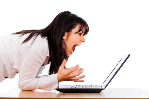 сердитый блоггер